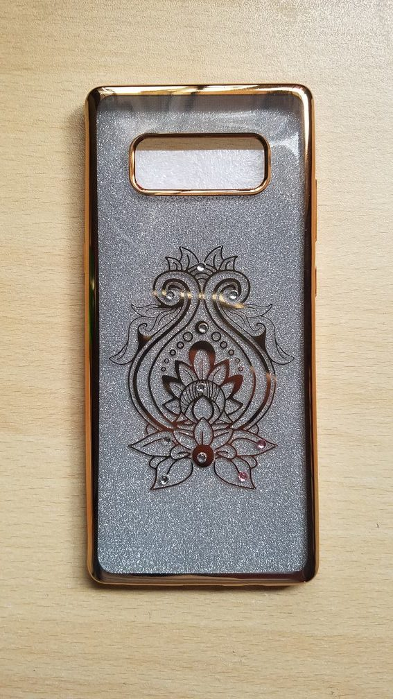 newest 784d3 a8d96 Samsung Galaxy Note 8 Fancy Back cover jewelled