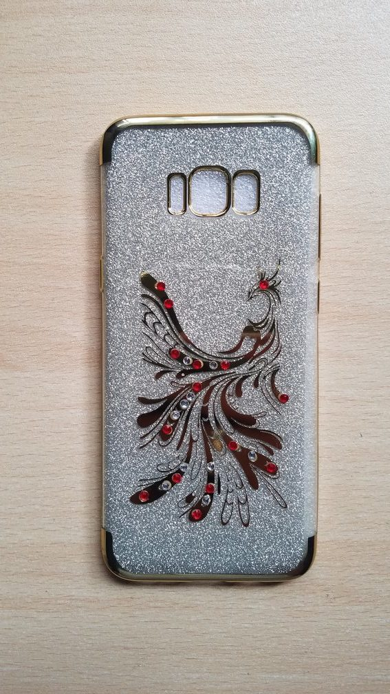 official photos f2e61 a09df Samsung Galaxy S8 Plus Fancy back cover jewelled